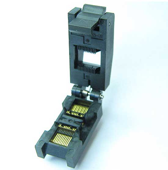 Test Sockets for Component Burn-in SOP, DIP, QFN, QFP, SOIC