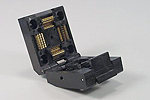 Yamyichi IC51-0804-795 Closed top 80 pin QFP test socket.