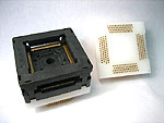 Test rated  receptacle for Yamaichi IC234-2164-050 test socket.