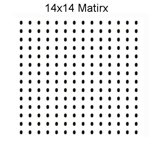8x9 BGA matrix